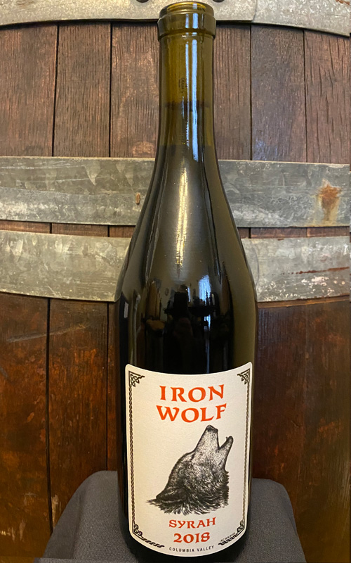 Iron Wolf Wine Syrah 2018